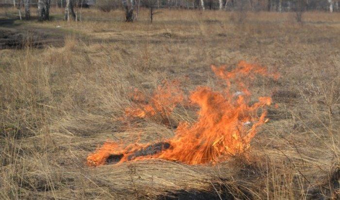 Начало особого противопожарного режима вИркутской области переносится на 1мая
