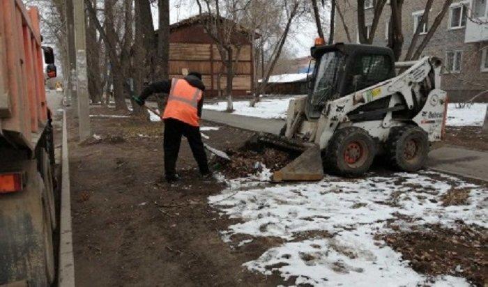 Более 200протоколов оненадлежащей уборке территории составлено науправляющие компании Иркутска