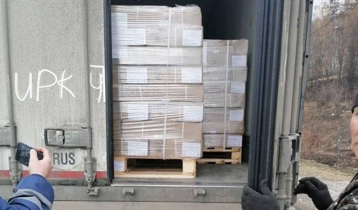 19 тонн мяса без ветдокументов обнаружили в Слюдянке во время досмотра автотранспорта