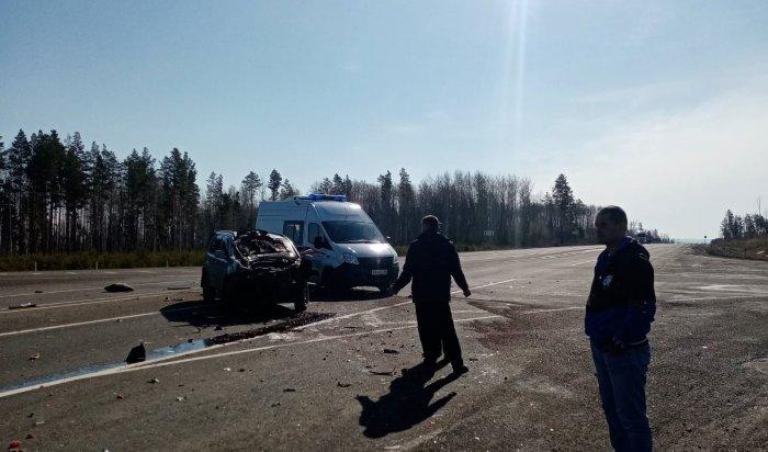 Два человека пострадали вДТП натрассе вТайшетском районе