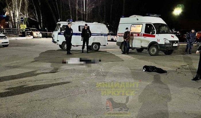 Мертвого мужчину обнаружили возле ночного клуба «Дикая лошадь» вИркутске