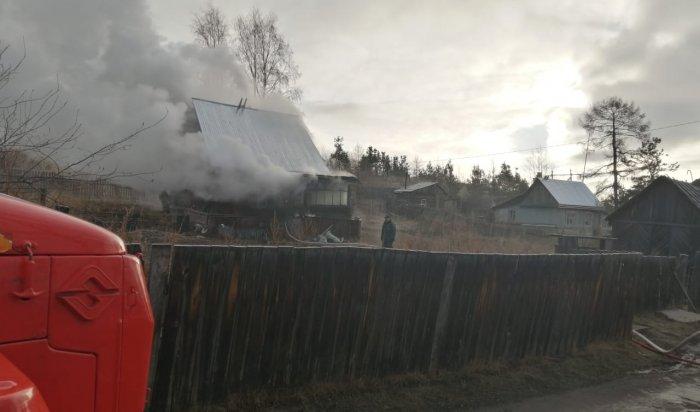 Один человек спасен и один погиб на пожарах за прошедшие сутки в Приангарье