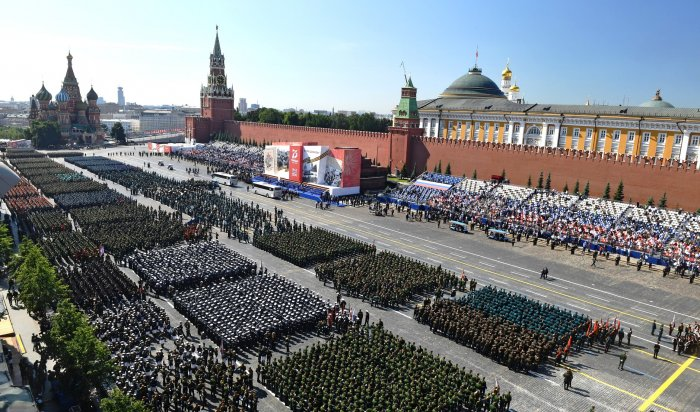 В Москве прошел Парад Победы (Видео)