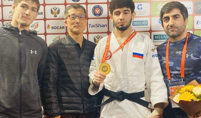 Спортсмен изИркутска занял первое место намеждународном турнире подзюдо