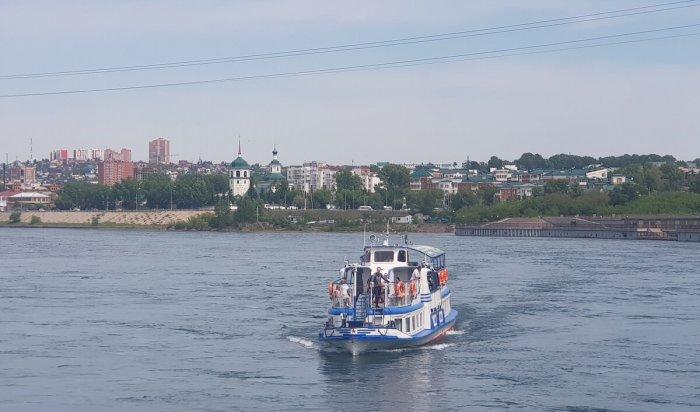 В Иркутске возобновились водные прогулки по Ангаре