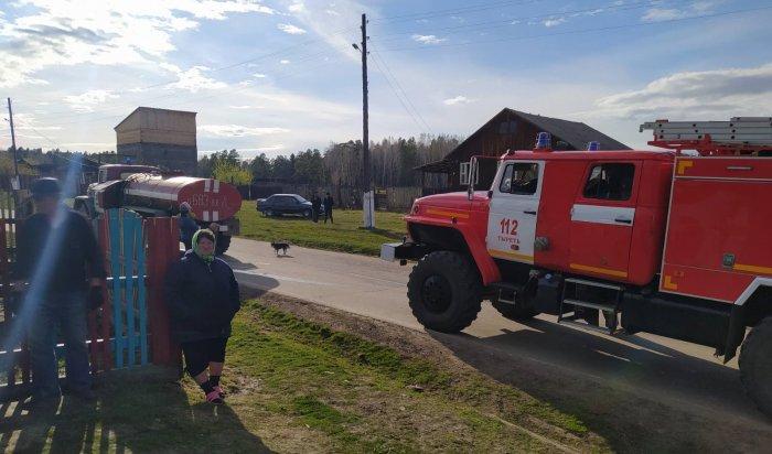 Дознаватели МЧС установили причину пожара с гибелью детей в Заларинском районе
