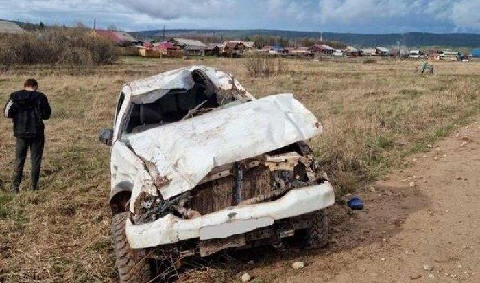 Подросток в состоянии алкогольного опьянения попал в ДТП в Усть-Кутском районе