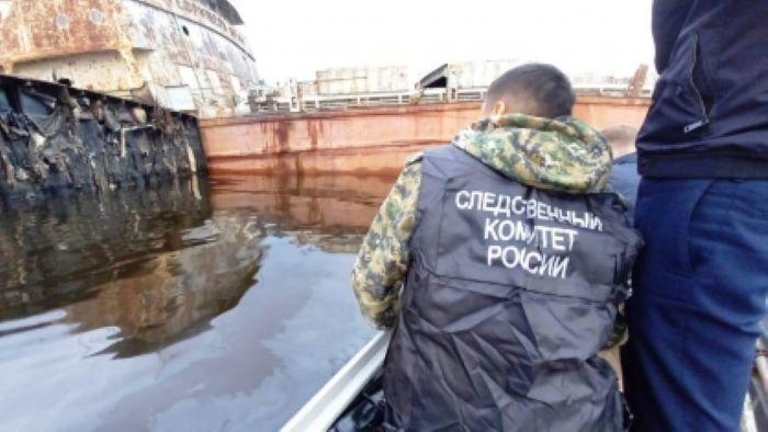 В Якутии началась следственная проверка по факту разлива нефтепродуктов в реку Лена