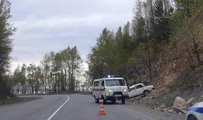 Три человека пострадали вДТП сучастием ВАЗа вСлюдянском районе (Видео)