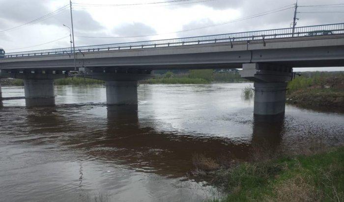 ВТулуне ввели режим повышенной готовности из-за подъема уровня воды вреке Ия