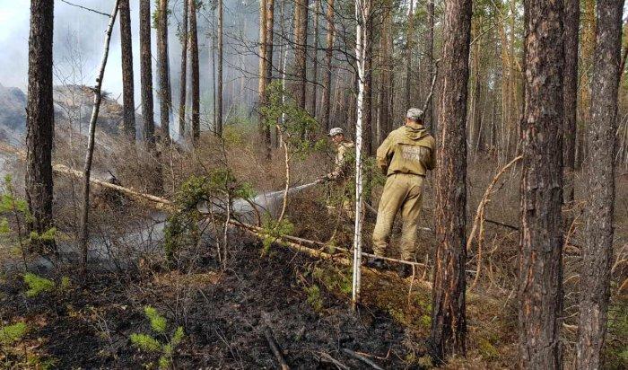 ВПриангарье пенсионер устроил пожар, который тушили пять дней (Видео)