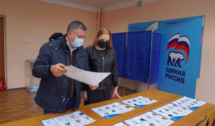 Игорь Кобзев принял участие вголосовании «Единой России»