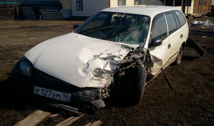 Погиб пассажир Toyota Caldina врезультате ДТП вШелеховском районе