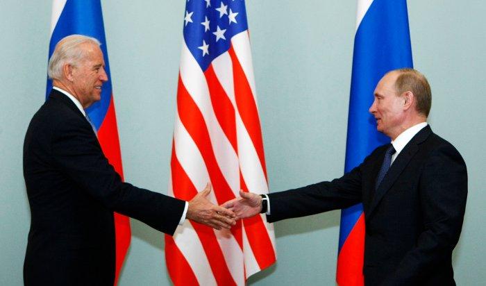 Путин и Байден встретятся на переговорах 16 июня в Женеве