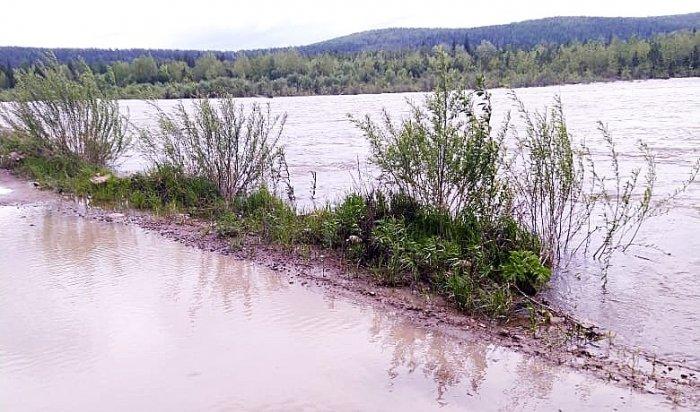 Уровень воды в Ие в районе Тулуна достиг критической отметки