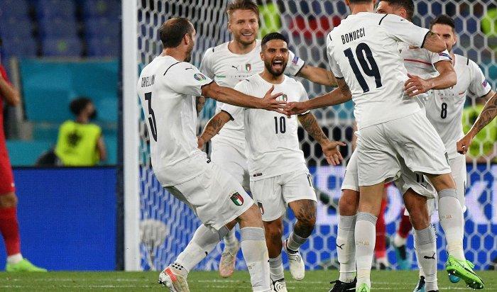 ВРиме состоялась первая врамках Евро-2020игра, вкоторой Италия разгромила соперника