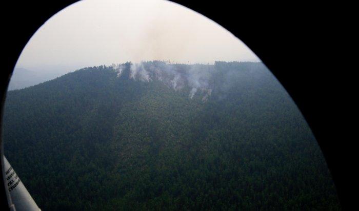 ВИркутской области заминувшие сутки ликвидировано восемь пожаров