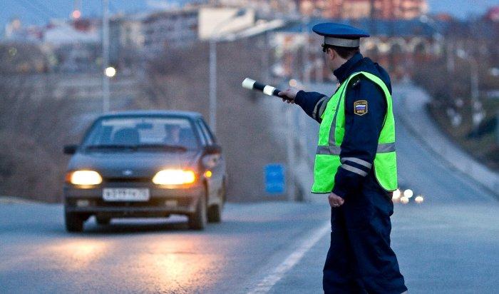 ВИркутской области запервый день массовых проверок ГИБДД выявила 54пьяных водителя