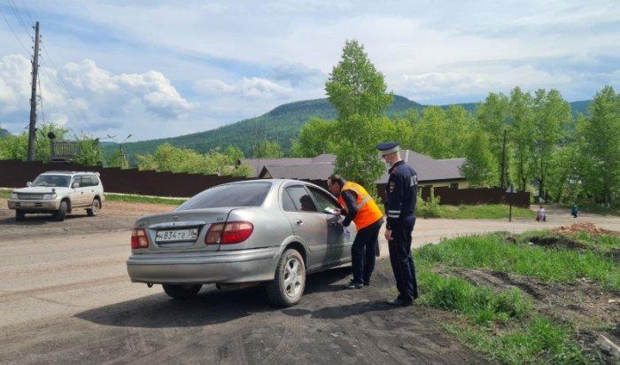 ВУсть-Куте сотрудники полиции напомнили автомобилистам оправилах проезда через железнодорожные пути