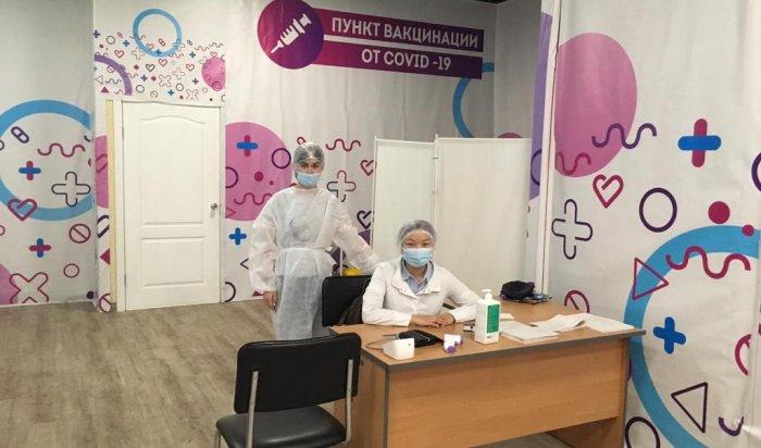 В«Яркомолле» начал работать пункт вакцинации откоронавируса
