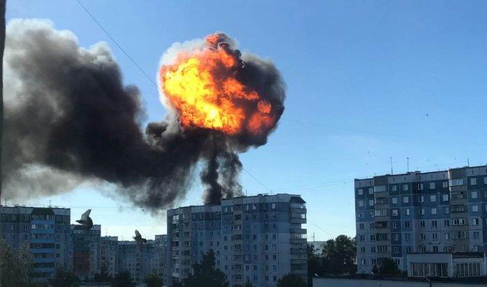 В Новосибирске на газозаправочной станции произошёл взрыв (Видео)