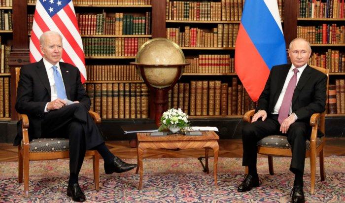 Путин рассказал об итогах его встречи с Байденом