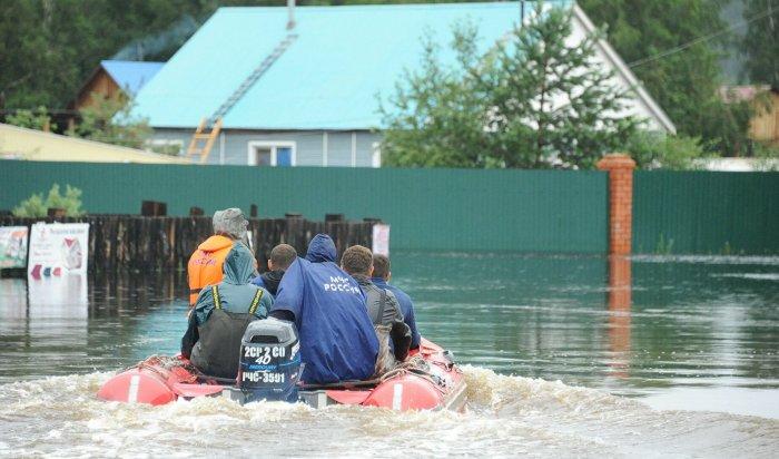 В восьми районах Забайкалья введен режим ЧС из-за сильных паводков (Видео)