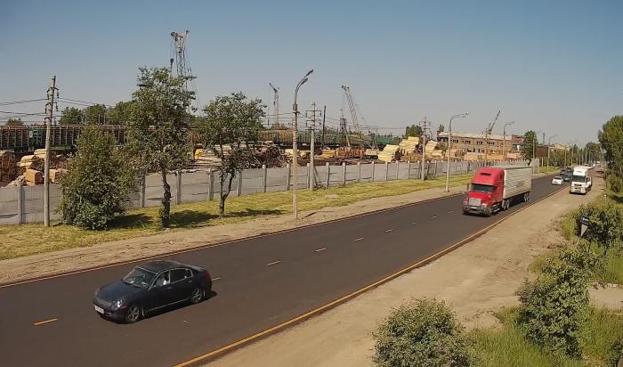 WEACOM.RU установил новую онлайн-камеру наулице Трактовой (Видео)