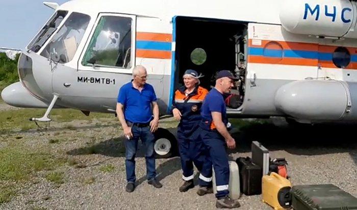Тела погибших при крушении самолета Ан-26начали извлекать изводы