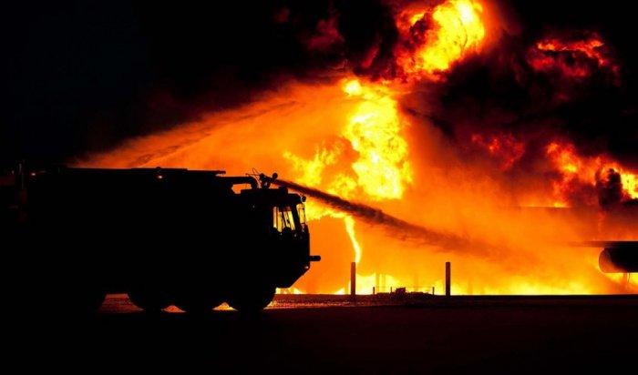 Виракской ковид-больнице вспыхнул сильный пожар (Видео)