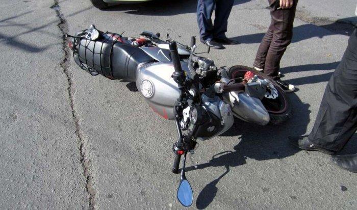 Сотрудники ГИБДД обеспокоены участившимися ДТП сучастием несовершеннолетних мотоциклистов