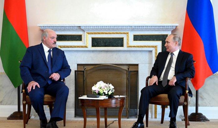 ВПетербурге прошли переговоры Путина иЛукашенко