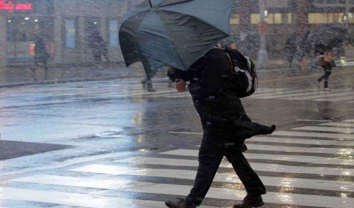 Впредстоящие сутки вИркутской области ожидается ухудшение погодных условий