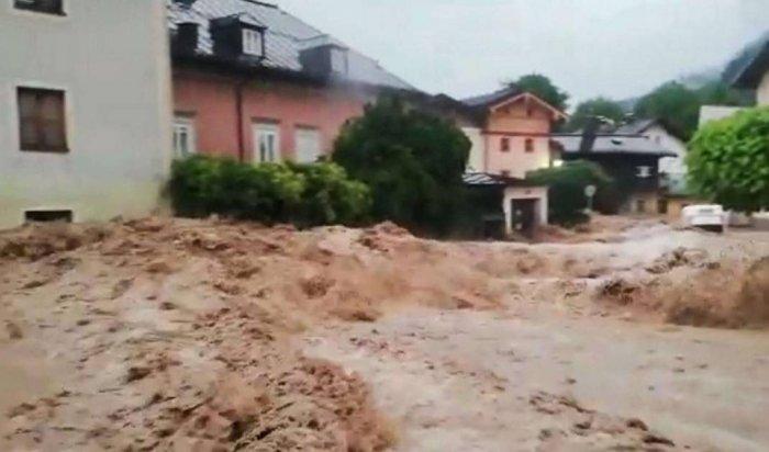 ВАвстрии из-за сильных ливней погиб один человек