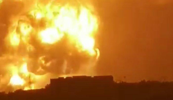 Вкитайской провинции Хэнань произошёл мощный взрыв (Видео)