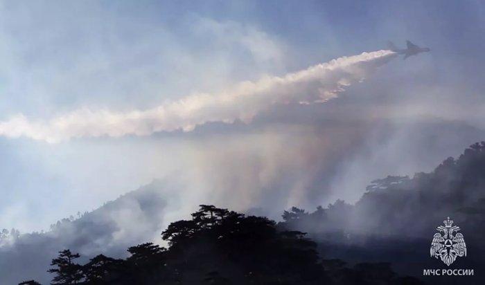 МЧС: Сначала пожароопасного сезона вЯкутии сгорело 2,5млн гектаров леса (Видео)