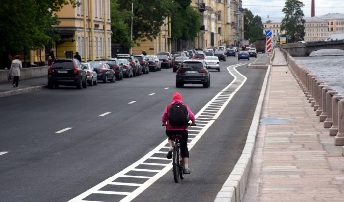 На улице Горной в Иркутске оборудуют велодорожку