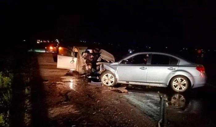 Три человека погибли в ДТП возле села Урик