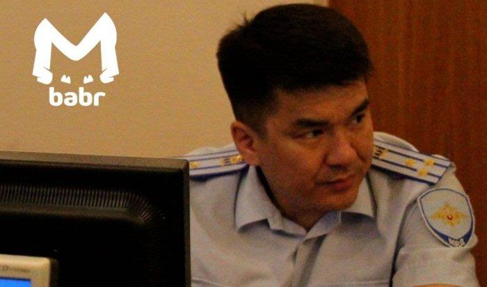 ВИркутске задержали закрупную взятку замначальника СУМВД поБурятии
