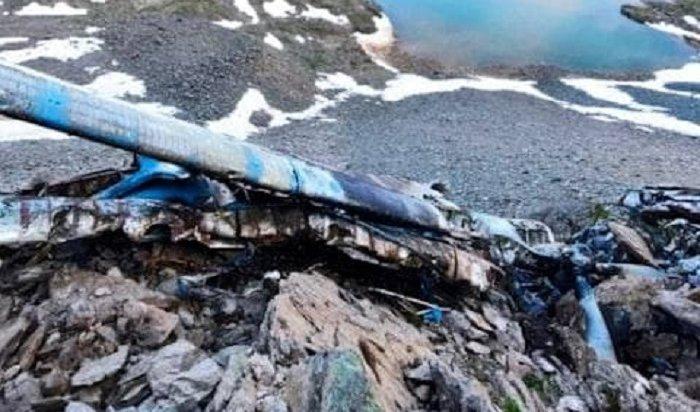 Появились первые кадры сместа крушения пропавшего год назад вБурятии Ан-2