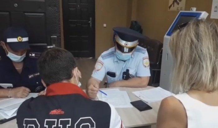 Полицейские нашли мотоциклиста, сбившего трех человек вУсолье-Сибирском