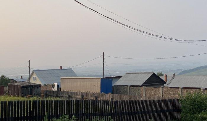 МЧС предупреждает овозможном задымлении Иркутска из-за лесных пожаров вПриангарье иЯкутии