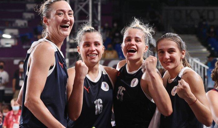 Женская сборная России побаскетболу 3×3впервые завоевала «серебро» наОлимпиаде