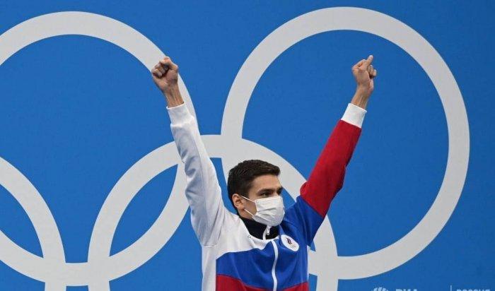 Российский пловец Евгений Рылов выиграл вторую золотую медаль наОлимпиаде вТокио
