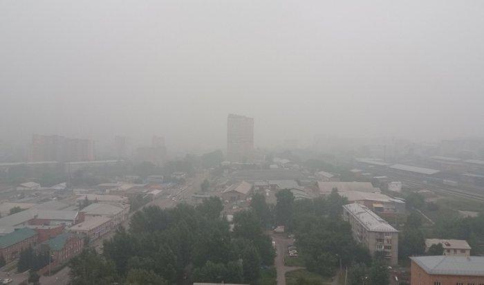 Дым из Якутии продолжает поступать в Приангарье