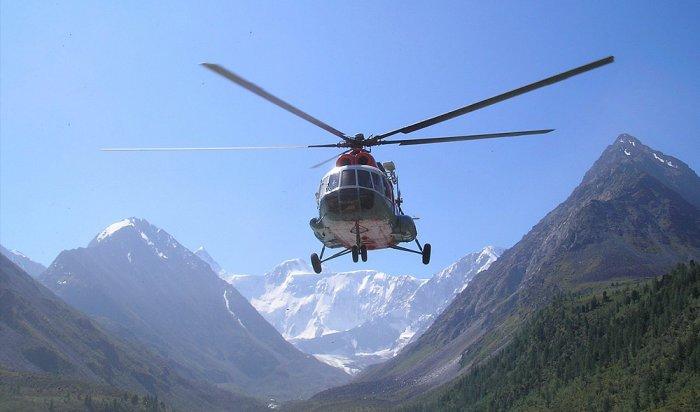Вертолет стуристами упал наКамчатке