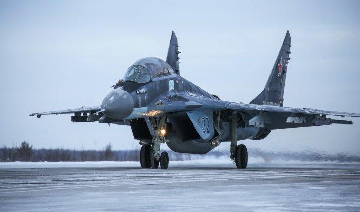 ВАстраханской области разбился истребитель МиГ-29