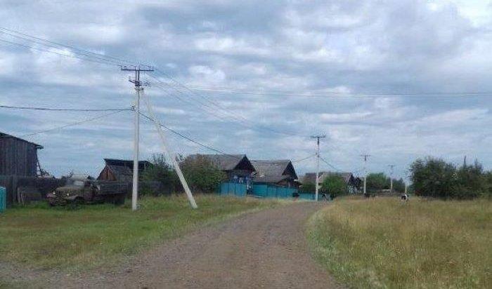 Энергетики завершили долгострой в селе Будагово Тулунского района