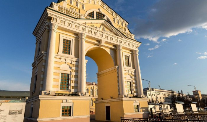 ВИркутске отремонтируют фасад «Московских ворот»