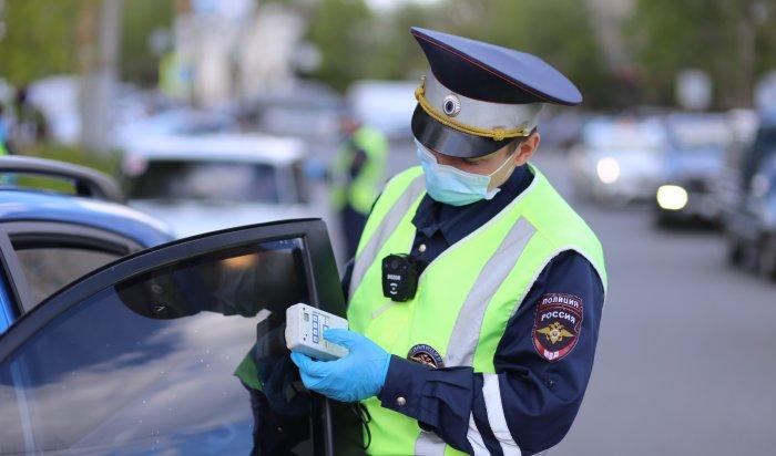 Пьяных автомобилистов будут ловить в Иркутске и районе в выходные